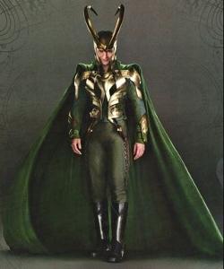 Custom Made 'Loki' Armor Costume by Alexandra Byrne (Costume Designer) in Thor