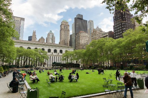 Bryant Park New York City, New York in John Wick