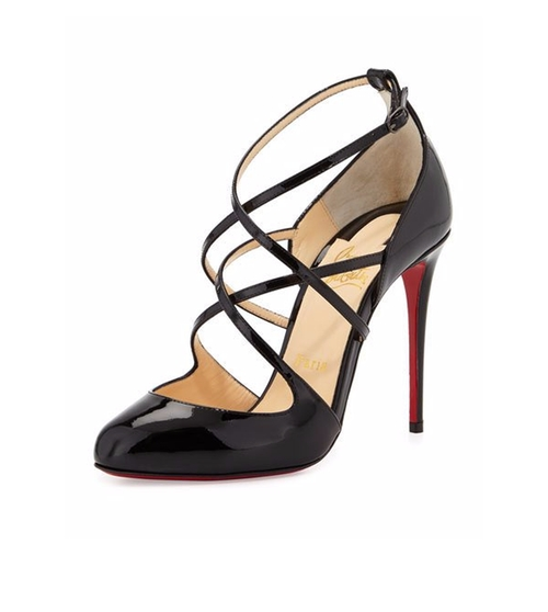 Soustelissimo Strappy Red Sole Pumps by Christian Louboutin in Mission: Impossible - Rogue Nation