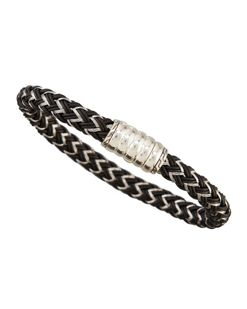 Bedeg Nylon Cord Bracelet by John Hardy in Entourage