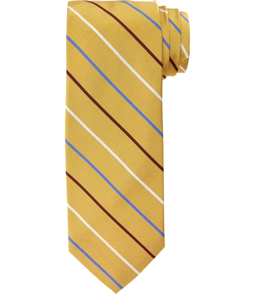Heritage Multi Thin Stripe Tie by JoS. A. Bank in Brooklyn Nine-Nine - Season 3 Episode 1
