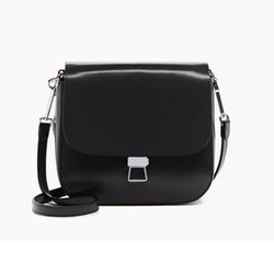 Perry Leather Saddle Bag by Theory in Gypsy