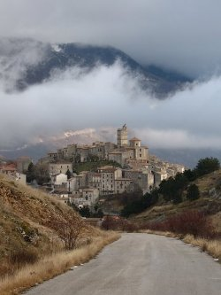 Abruzzo, Italy by Castel del Monte, L'Aquila in The American