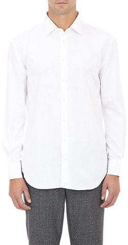 Solid Dress Shirt by Barneys New York in Ant-Man