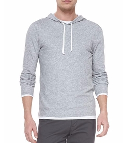 Double-Layer Pullover Hoodie by Vince in Mike and Dave Need Wedding Dates