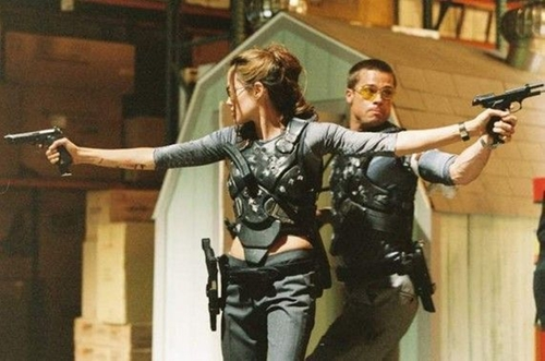 Custom Body Armor (Jane Smith) by Michael Kaplan (Costume Desinger) in Mr. & Mrs. Smith