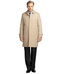 Newbury Khaki Trench Coat by Brooks Brothers in Top Five