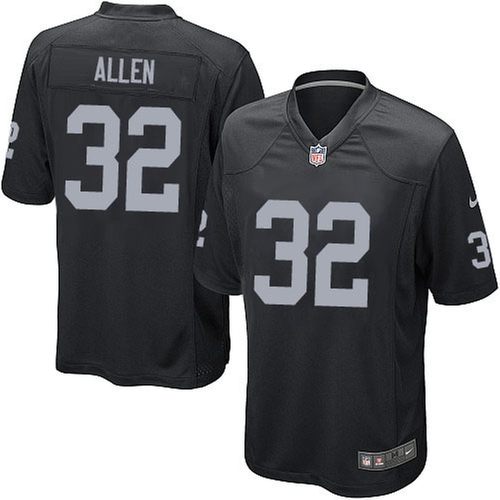 Limited Marcus Allen Youth Jersey by Nike in Straight Outta Compton