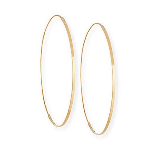 Flat Magic Hoop Earrings by Lana in Keeping Up With The Kardashians - Season 14 Episode 1