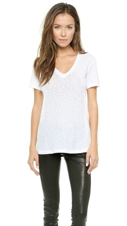 The Classic V Tee Shirt by Rag & Bone in That Awkward Moment