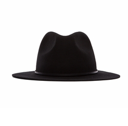 Wesley Fedora Hat by Brixton in Jane Got A Gun