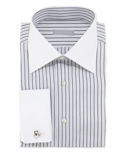 Striped Dress Shirt by Stefano Ricci in Wedding Crashers