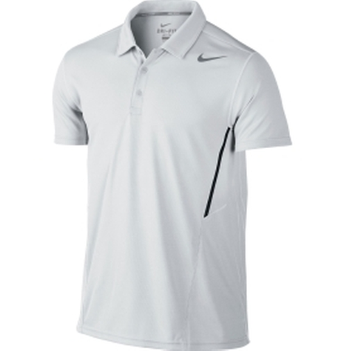 Men's Power UV Tennis Polo Shirt by Nike in Ballers