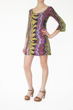 Mod Print Dress by The Ruddy Duck in Boyhood