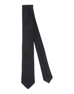 Solid Silk Tie by Boss Black in We Are Your Friends