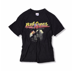 Vintage 1996 Bob Seger & The Silver Bullet Band T Shirt by DirtPoorClothingCo. in Logan Lucky