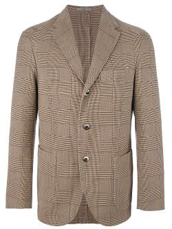 Checked Blazer by Boglioli in Let's Be Cops