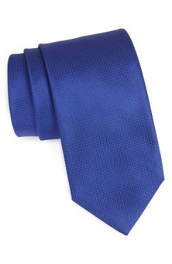 Woven Silk Tie by Boss Hugo Boss in Shutter Island