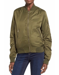MA1 Bomber Jacket by Topshop in The Flash