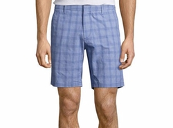Antrorse Check Shorts by Zachary Prell in Flaked