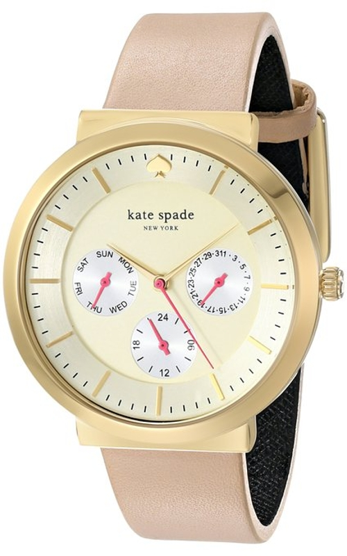 Metro Grand Gold-Tone Stainless Steel Watch by Kate Spade New York in Ted 2