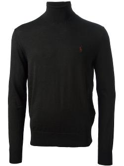 Turtle Neck Sweater by Ralph Lauren Blue in A Walk Among The Tombstones