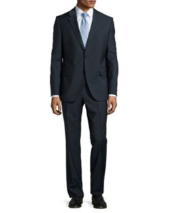 Grand Central Check Two-Piece Suit by Hugo Boss in Top Five