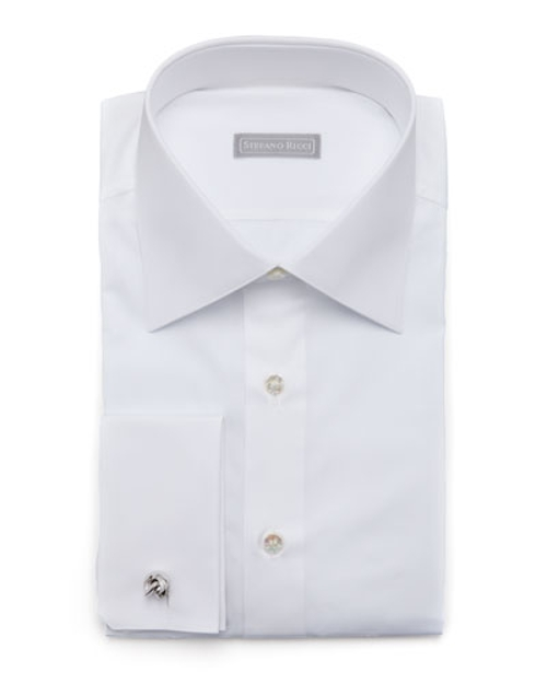 Basic French-Cuff Dress Shirt by Stefano Ricci in The Transporter: Refueled