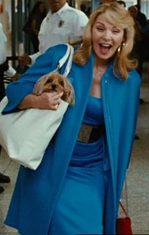 Blue Coat by Versace in Sex and the City