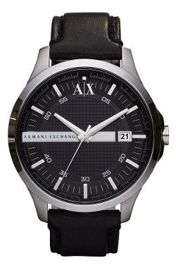 Leather Strap Watch by AX Armani Exchange in Need for Speed