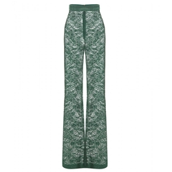 Lace Trousers by Balmain in Empire