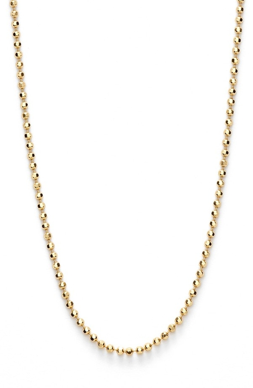 Ball Chain Necklace by Argento Vivo in Jem and the Holograms