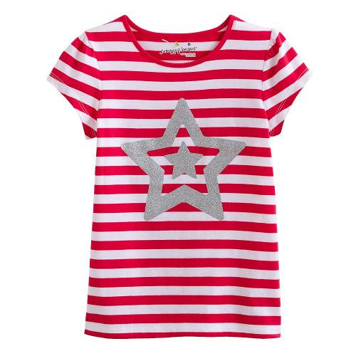 Striped Star Tee by Jumping Beans in And So It Goes