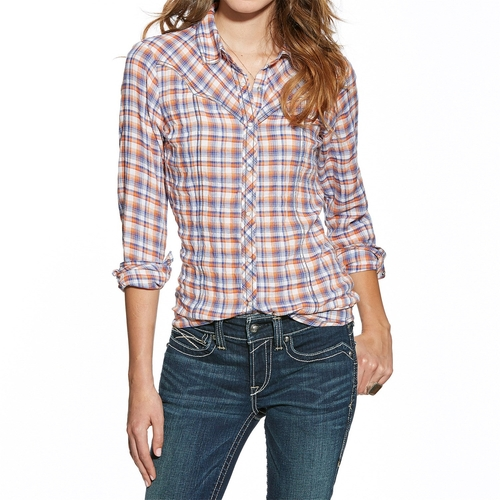 Lazaro Plaid Shirt by Ariat in The Fundamentals of Caring