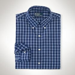 Custom-Fit Plaid Sport Shirt by Ralph Lauren in Neighbors