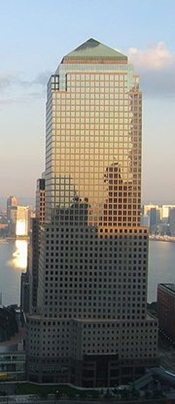 New York City, New York by 200 Vesey Street - Three World Financial Center in Top Five