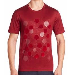 Flocking Pentagon T-Shirt by Z Zegna in Pretty Little Liars