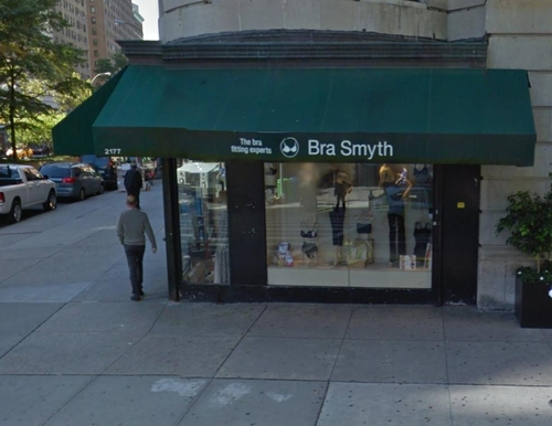 Bra Smyth Boutique New York City, New York in How To Be Single