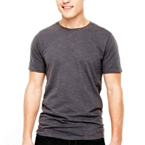 Arizona Slub Crew Neck T-Shirt by JCPenney in Let's Be Cops