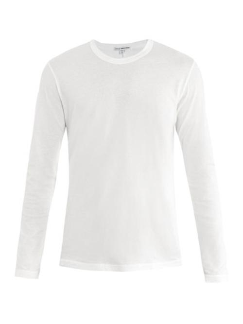 Long-Sleeve T-Shirt by James Perse in Man of Steel