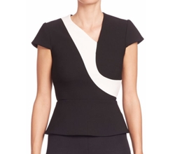 Kiff Colorblock Top by Roland Mouret in Unbreakable Kimmy Schmidt