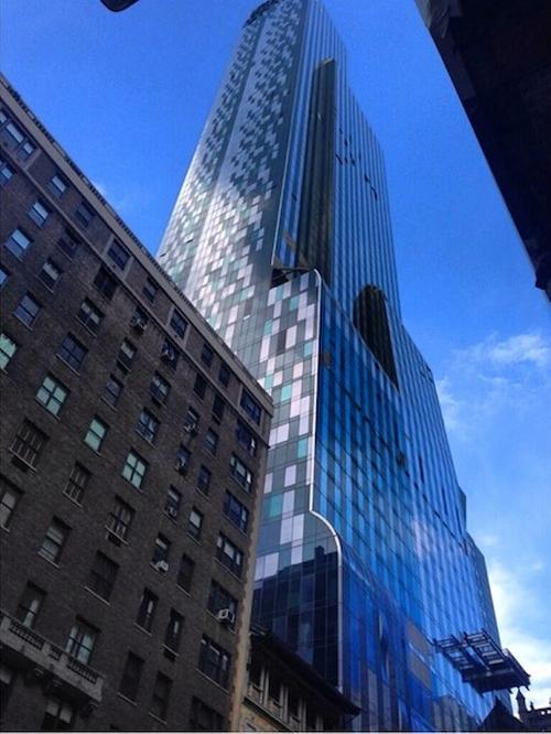 Park Hyatt New York Building New York City, New York in Trainwreck