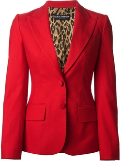 Classic Fitted Blazer by Dolce & Gabbana in The Good Wife