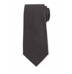 Woven Neat Silk Tie by Armani Collezioni in House of Cards