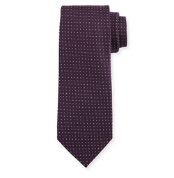 Micro Dot-Print Silk Tie by Tom Ford in Designated Survivor
