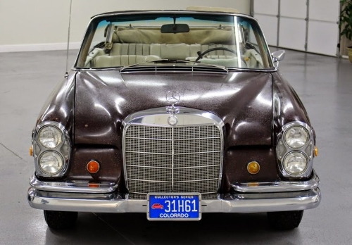 1969 280 SE Sedan by Mercedes-Benz in The Hangover