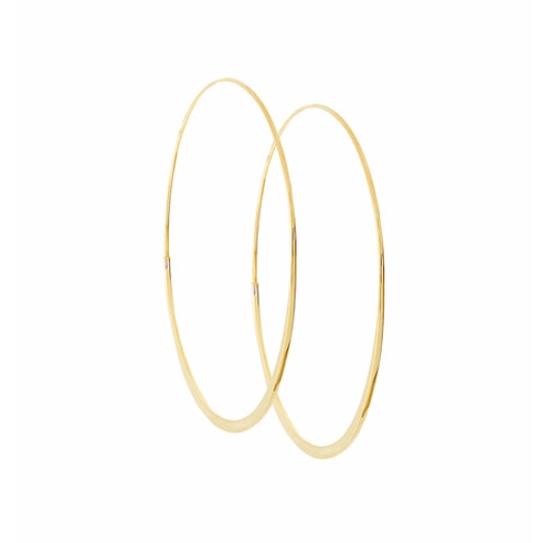 Wave Magic Hoop Earrings by Lana in Keeping Up With The Kardashians - Season 12 Episode 16