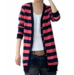 Striped Cardigan by CA Fashion in The Layover