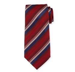 Ombre-Stripe Silk Tie by Ermenegildo Zegna in House of Cards