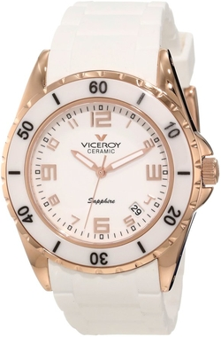 White Rubber Watch by Viceroy in Ballers